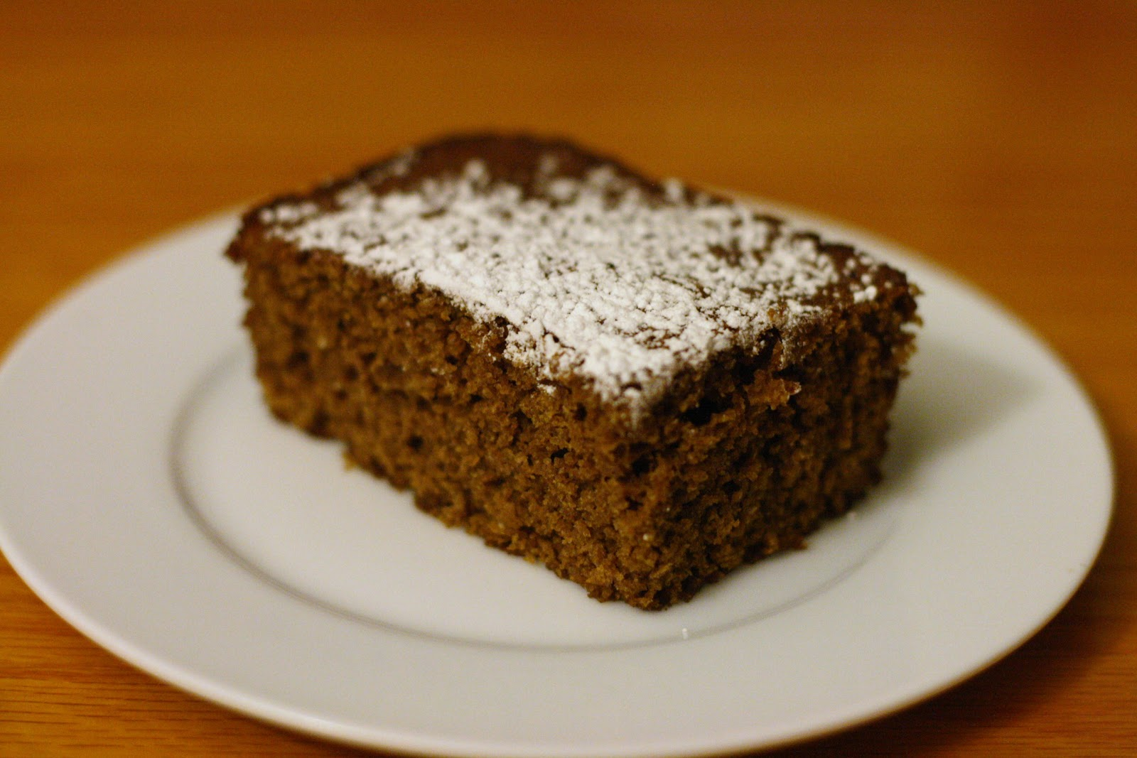Laine's Recipe Box: Whole Wheat Gingerbread Squares