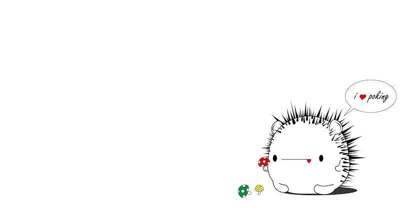 i ♥ poking