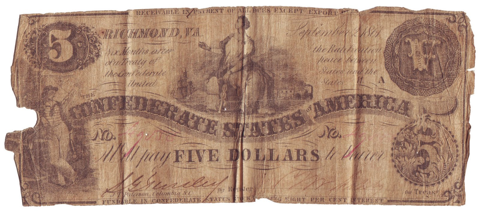 What Did Money Look Like in the Us in the 1800s
