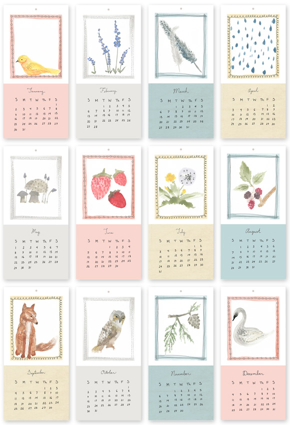 Calendar Book Printable : A bright bite free printable calendar