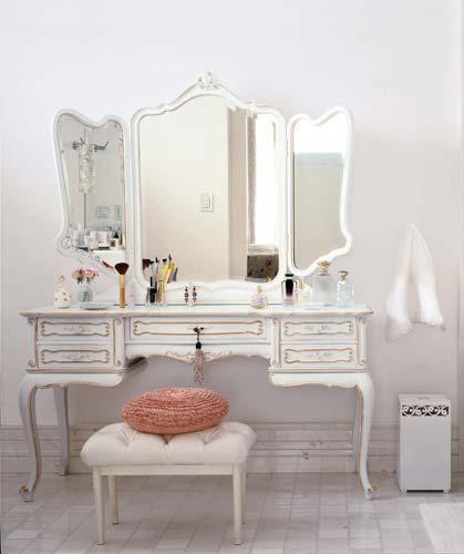 morar no ar Decoração Móveis Provençal -> Decoracao Banheiros Estilo Provencal