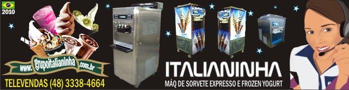ITALIANINHA MÁQUINAS DE SORVETE, AÇAÍ E FROZEN YOGURT 2012