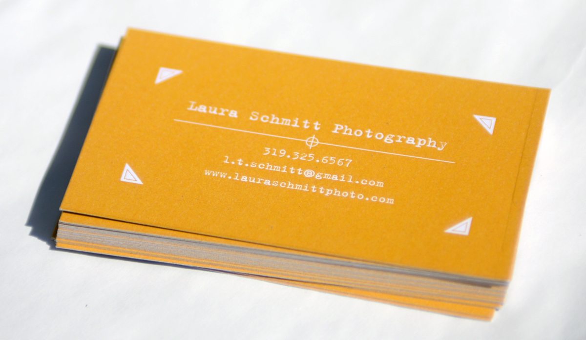 Laura schmitt photography new business cards the card to be more for fine art photography or wedding and portrait photography it is hard to find one photo that represents me as a photographer magicingreecefo Choice Image