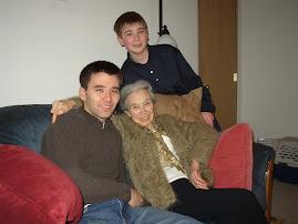 Grandsons Erich & Justin