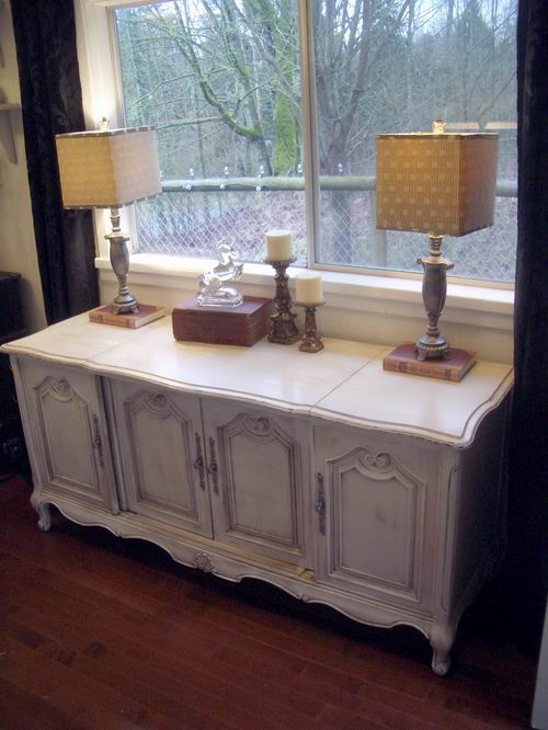WHAT TO DO WITH THAT FRENCH CLASSIC   Stereo Cabinet