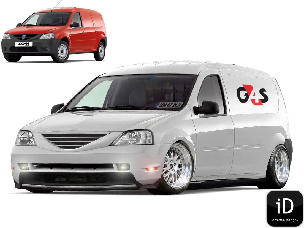 icemangraphics dacia logan van gt g4s for ma dad. Black Bedroom Furniture Sets. Home Design Ideas