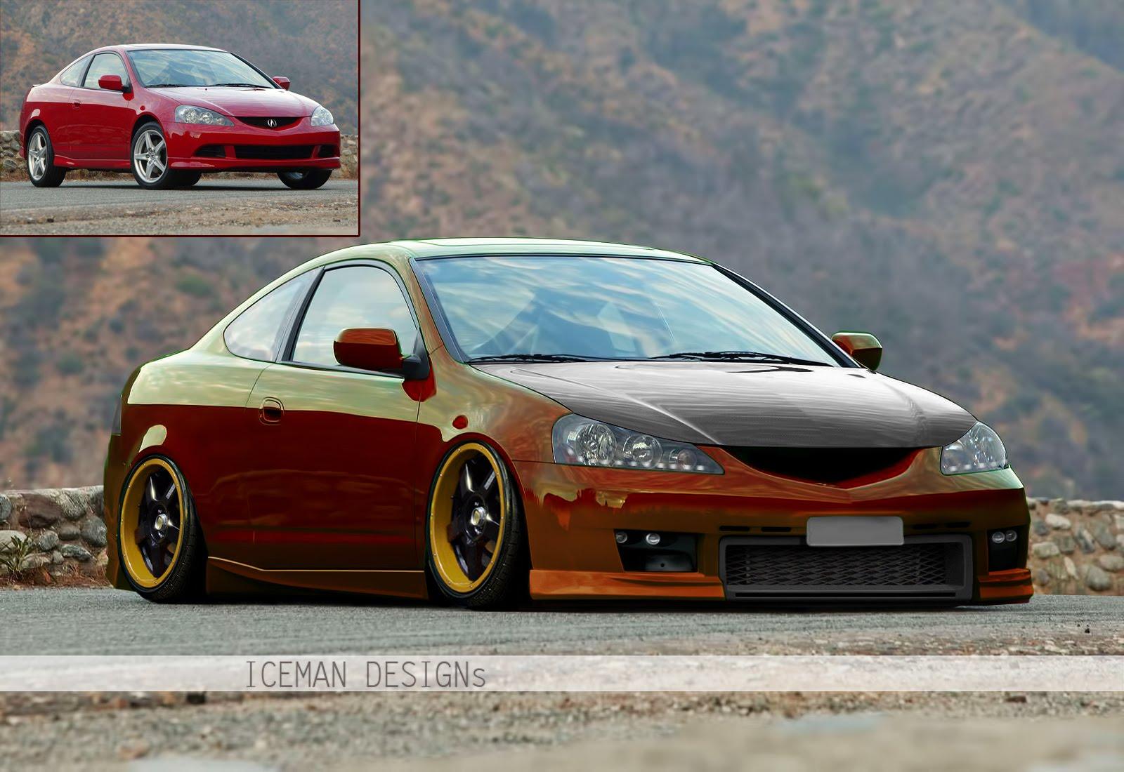 ҉IcemanGraphics®҉: Acura RSX Type-S By Iceman