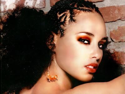 absorbing Alicia Keys