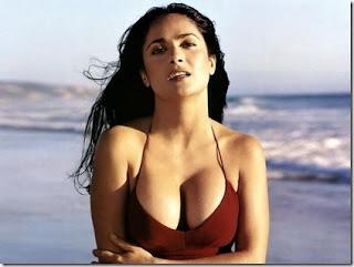 Salma hayek in bikini desktop
