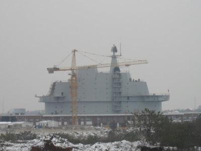 В 2010 году Китай может начать ходовые испытания бывшего украинского авианосца «Варяг»