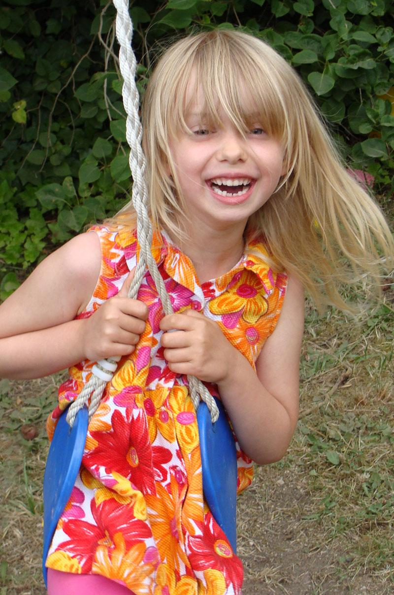 En Anoword Little Girl