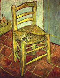 A Cadeira de Van Gogh com Cachimbo, 1888. •