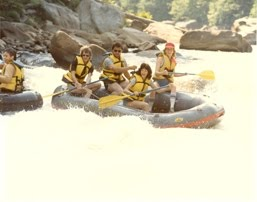 whitewater rafting - youghiogheny style