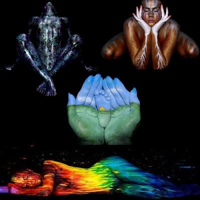 Craig Tracy: El arte de pintar cuerpos