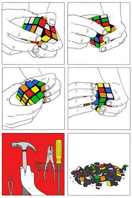 Como resolver el cubo Rubik