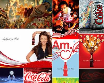 Posters de Coca Cola de ayer, hoy y mañana!