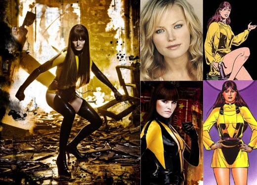 Silk Spectre: Malin Akerman