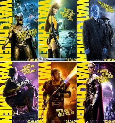 Posters Promoción Watchmen