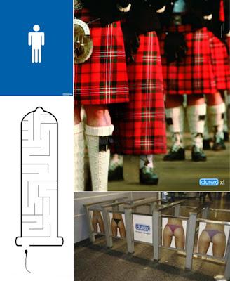 Propagandas ingeniosas para vender condones