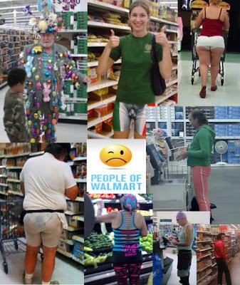 Gente extraña que se puede encontrar en Walmart