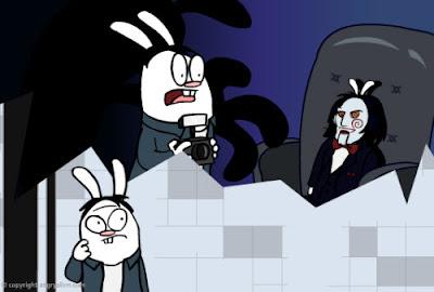 El Juego del miedo contado por conejos y en 30 segundos