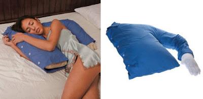 Almohada novio con forma de brazo
