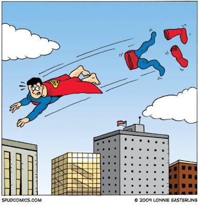 Porqué Superman usa cinturón?