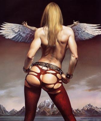 Boris Vallejo: Fantasia y erotismo