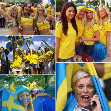 Las suecas más lindas del mundial