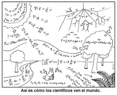 Como ven el mundo los científicos