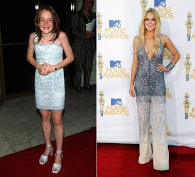 La vida de Lindsay Lohan en imagenes