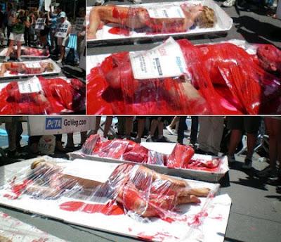Comer carne es asesinato ???