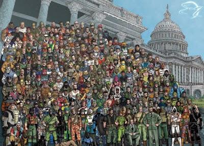 Todos los personajes de G.I: Joe