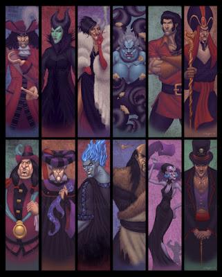 Villanos del mundo del Disney