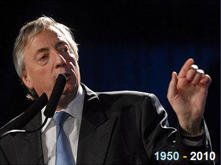 Murió el ex presidente Nestor Kirchner
