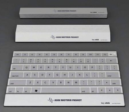 Nuevo teclado plegable