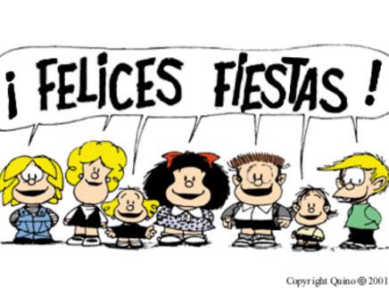 Felices fiestas con Mafalda