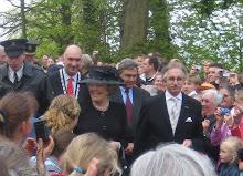Koningin Beatrix opent kasteel op Nederhemert - Zuid