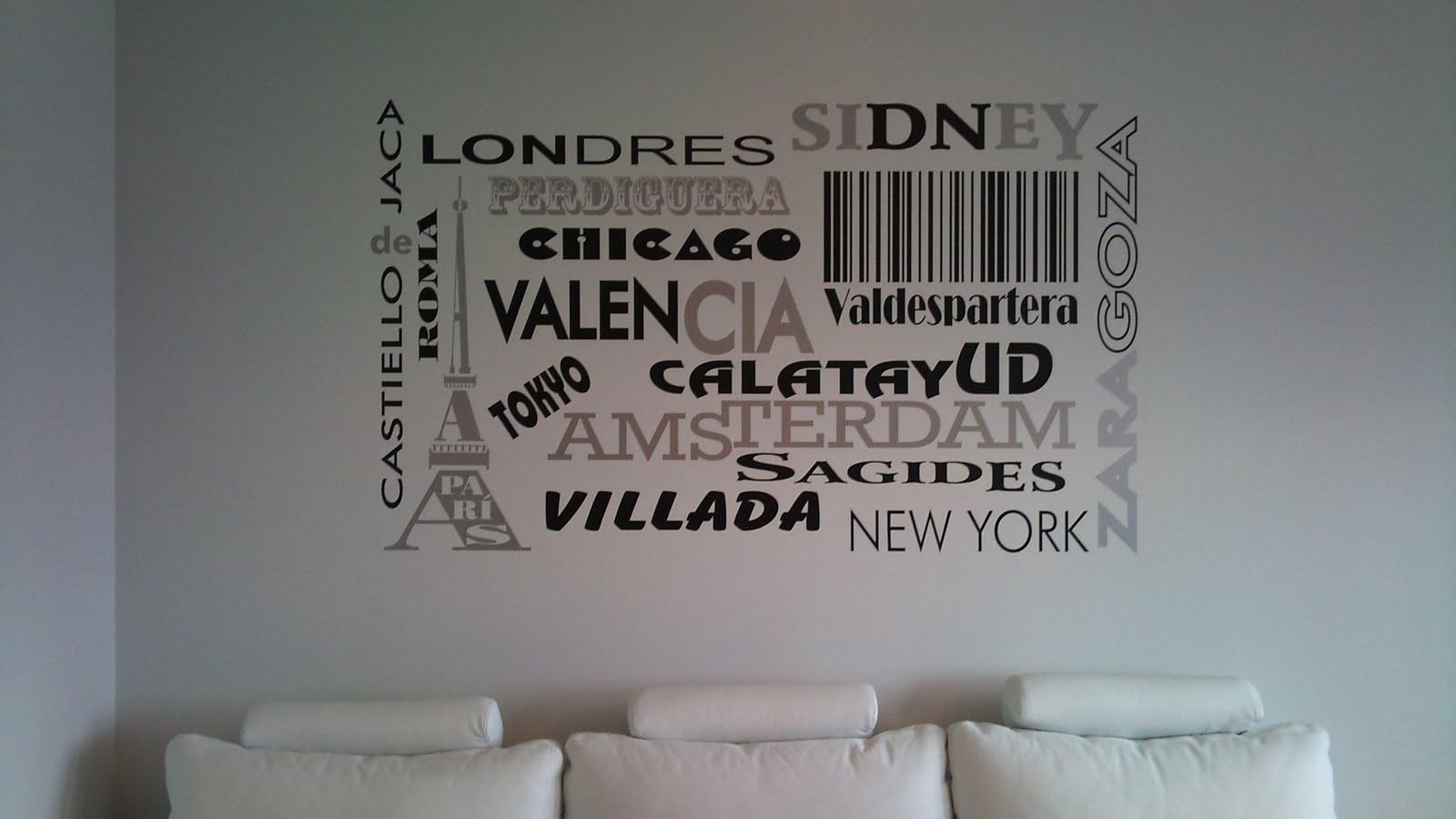Alta decoraci n en vinilo vinilos personalizados - Vinilos personalizados pared ...