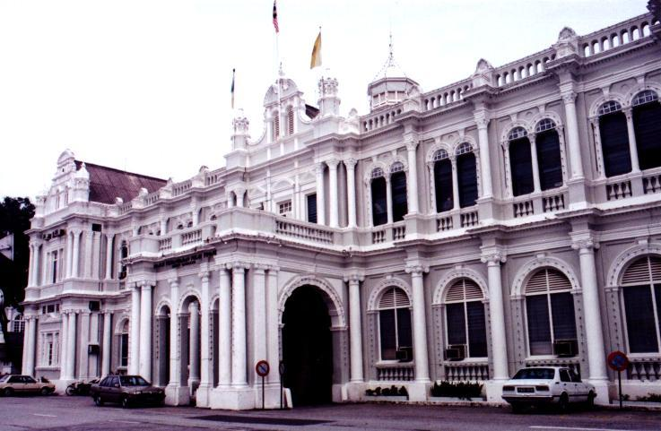 Interesting Places In My Country Penang City Hall