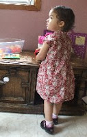 sewing toddler clothes easy frock dress