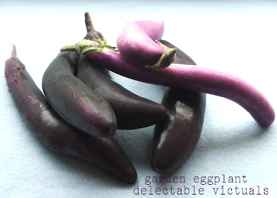 easy recipe home grown garden ichiban eggplant sauté indian vegetarian