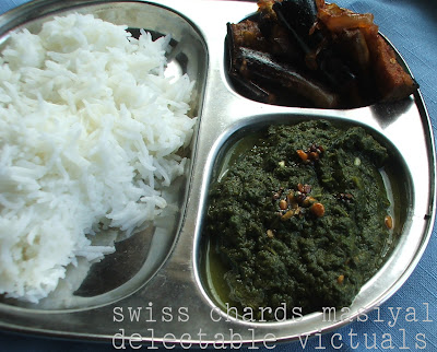 easy recipe indian vegetarian keerai masiyal mashed swiss chards spinach