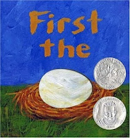 First the Egg  Laura Vaccaro Seeger  book review