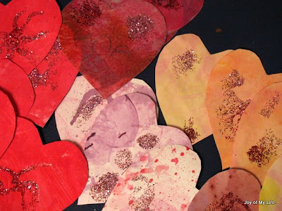 kids craft valentine's heart cards