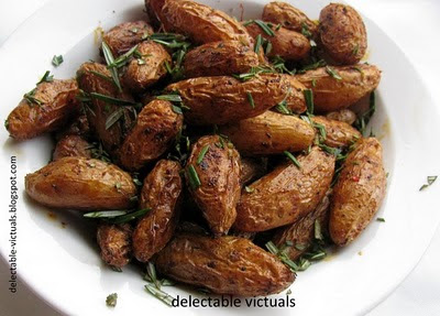 roasted fingerling potatoes ruby crescent