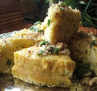 easy recipe khaman dhokla indian spicy steamed chickpea flour gujarathi delicacy