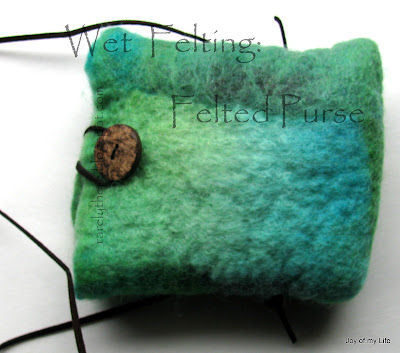 Wet Felting and Needle Felting