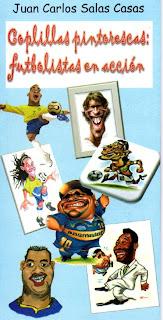 Coplillas pintorescas:futbolistas en acción