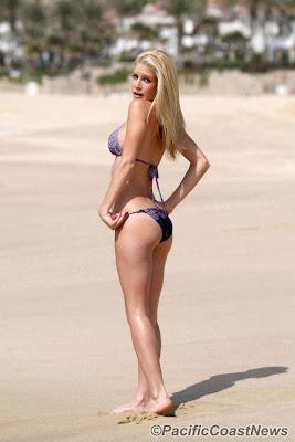 heidi montag sexy on the beach
